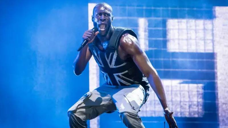 Banksy Made Stormzy's Customised Stab Proof Vest For Glastonbury