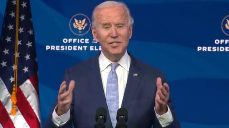 President-Elect Joe Biden Addresses Nation After Pro-Trump Supporters Storm US Capitol Building