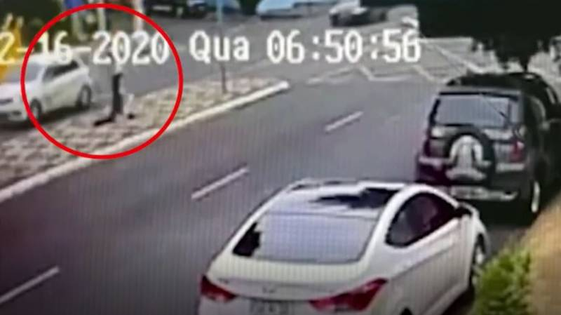 Shocking Moment Teen Gets Swallowed Up By Sinkhole