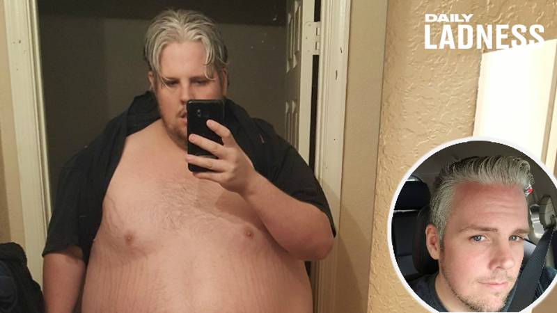 Man Who Weighed 37 Stone Loses Half His Body Weight