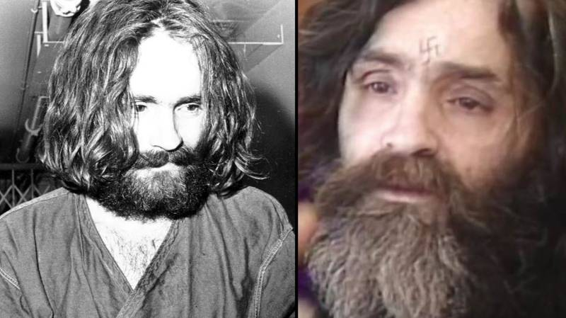 Final Picture Of Charles Manson Taken Before His Death