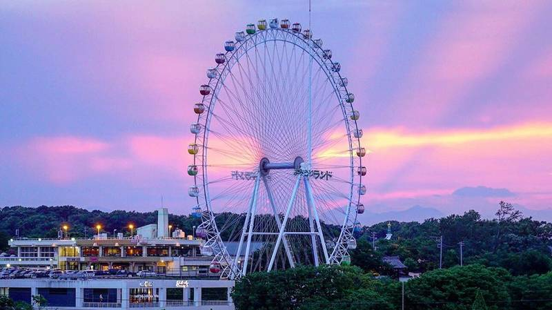 Japanese Theme Park Lets You Work From A Ferris Wheel