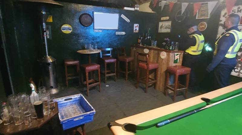 Police Discover Suspected Unlicensed Pub In Ireland With 'Fully Operational Bar'