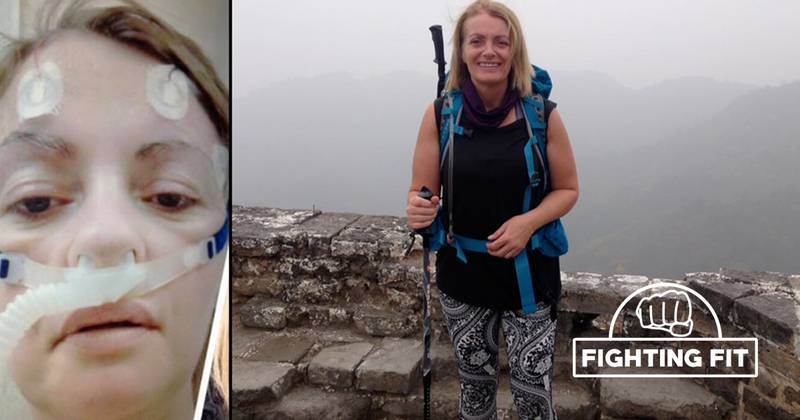 Woman Uses Fitness To Overcome Epilepsy And Scale Great Wall Of China