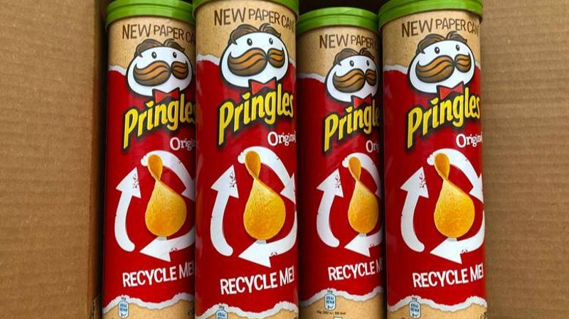 ​The Pringles Tube Has Had A Major New Redesign And It's Eco-Friendly