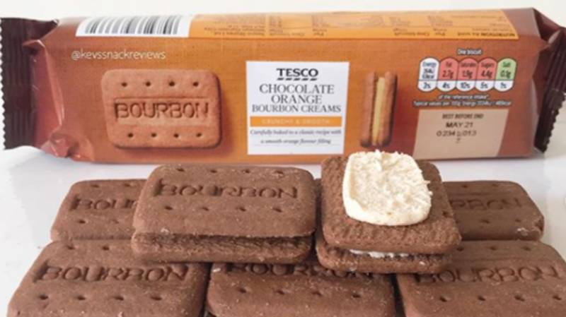 Tesco Now Sells Chocolate Orange Bourbons