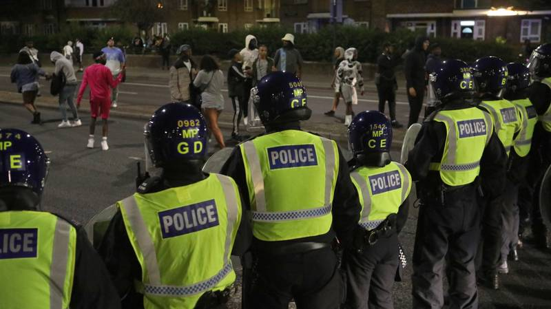 Two Officers Injured As Riot Police Pelted With Bottles At Illegal Rave
