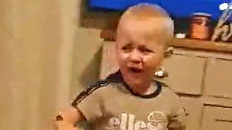 Hilarious Video Of Parents Pranking Their Boy With Nutella Goes Viral