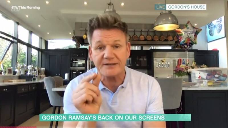 People Shocked After Gordon Ramsay Claims To Have Size 15 Feet