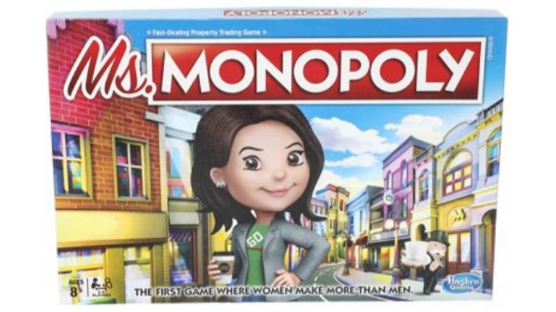 New Monopoly Game Lets Women Earn More Than Men