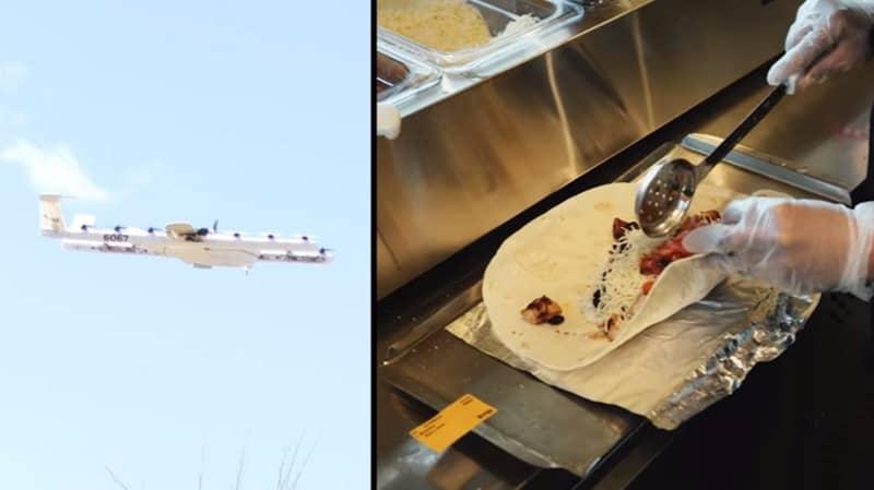 ¡Arriba, arriba! Guzman Y Gomez Is Trialling Drone Delivery In Places Around Australia