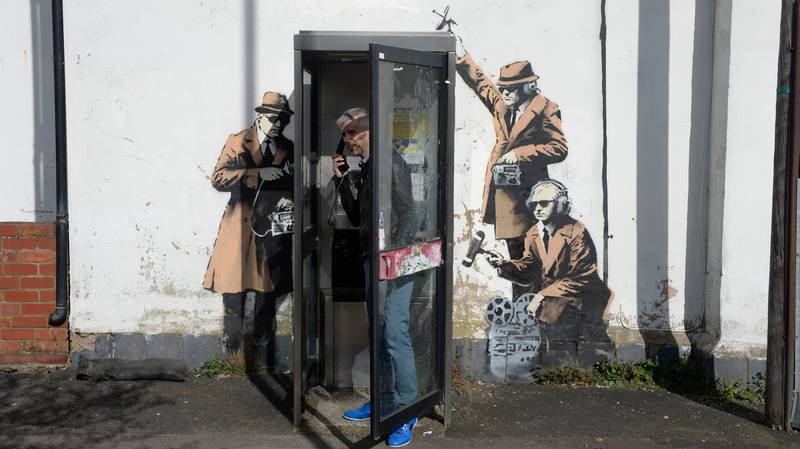 Call Off The Search As New Banksy Theory Claims Street Artist Is Actually Four People Working Together
