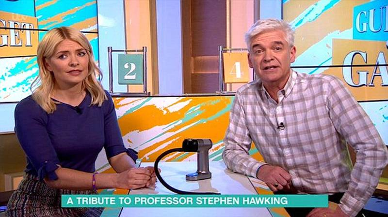 'This Morning' Cocks Up Stephen Hawking Tribute With 'All About That Bass'