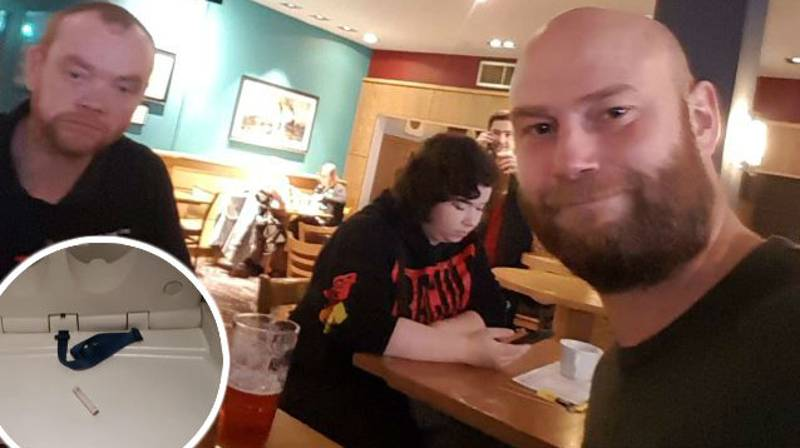 Dad Claims Wetherspoon Baby Changing Station 'Used To Snort Cocaine'