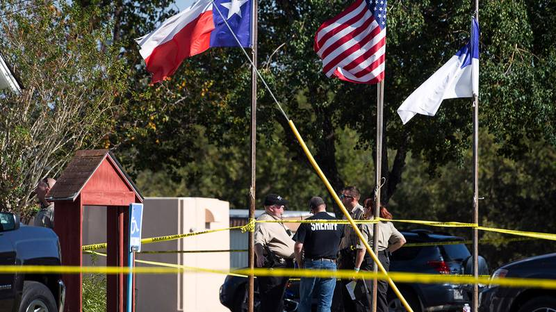 More Than Two Dozen People Dead In Texas Church Shooting