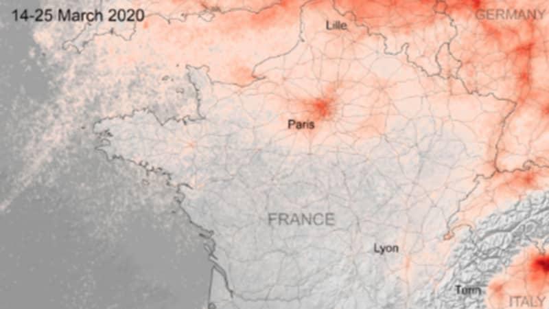 Satellite Images Show Sharp Drop In Air Pollution Amid Coronavirus Lock Down Measures