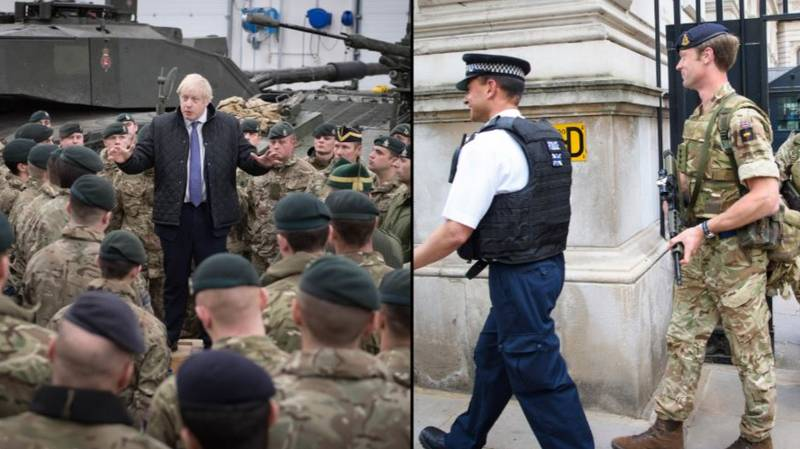 20,000 British Troops On Standby As UK Prepares For Lockdown