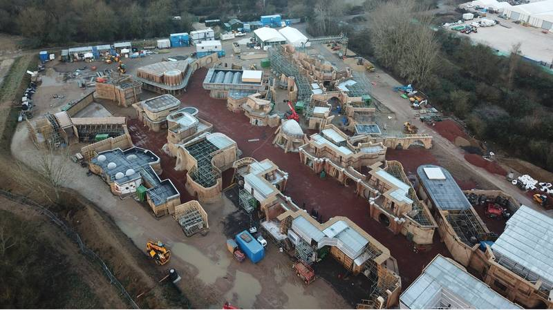 'Star Wars Set' Being Built In Rural Village Outrages Residents