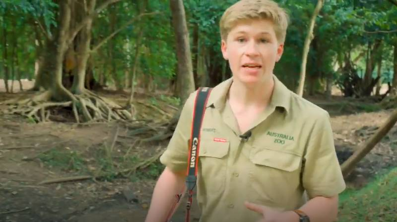 Video Shows Robert Irwin Finding One Of Most 'Endangered Species' On Planet
