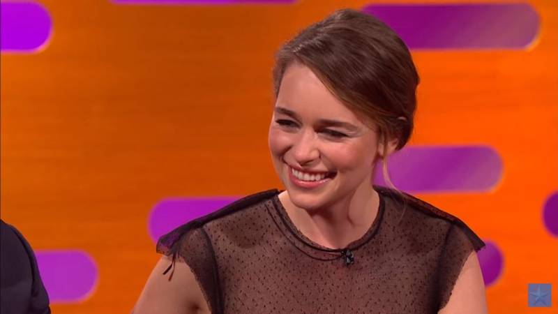 Emilia Clarke Describes Watching Her 'Game Of Thrones' Naked Scenes With Her Parents