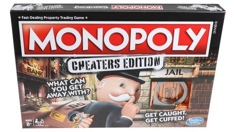 Monopoly Is Releasing A Cheaters Version Of The Famous Board Game