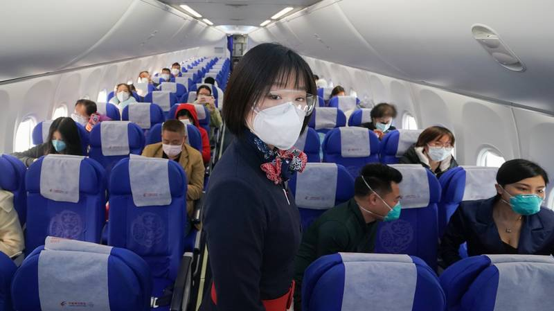 Cabin Crews In China Told To Wear Nappies To Reduce Covid-19 Risk