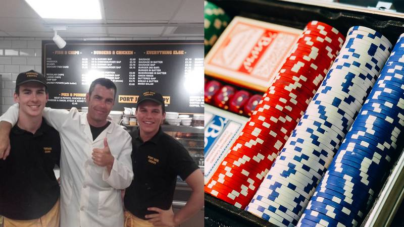 Lad Quits Job In Family Chip Shop To Become Full Time Poker Player