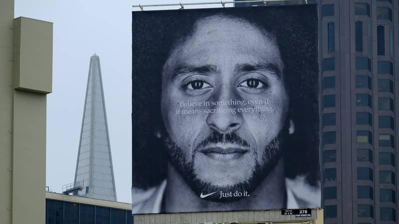 Nike Sales 'Increase By 31%' Following Colin Kaepernick Ad Campaign
