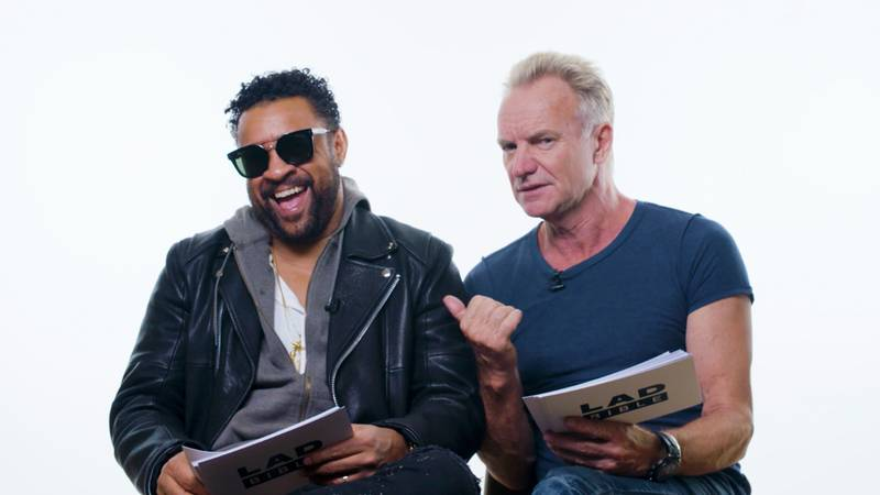 Sting and Shaggy Give Life Advice On Girls Next Door, Milk Thieves and Icebreakers