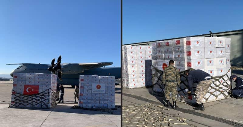 Turkey Sends Planeload Of Emergency Coronavirus Medical Equipment To Britain