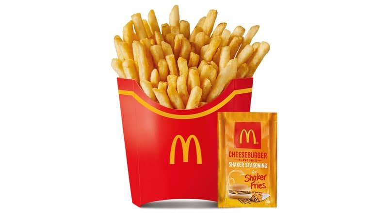 McDonald's Is Bringing Back Cheeseburger Shaker Fries Across Australia