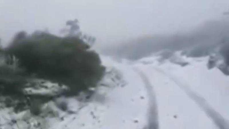 US Storms Bring Rare Snowfall To Hawaii