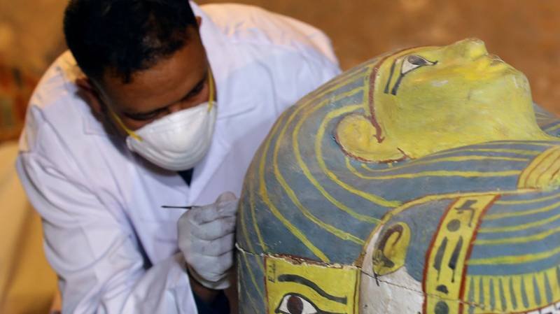 Mummy Of 3,000 Year Old Woman Found Perfectly Preserved In Egypt Coffin