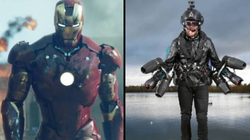 Inventor Flies 'Iron Man' Jet Suit Over London And It's Available To Buy
