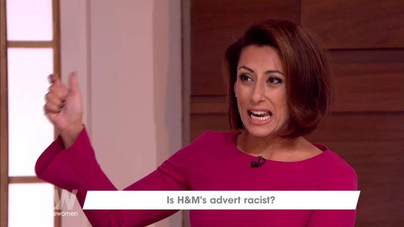 ​Saira Khan Defends H&M's Controversial Hoody On 'Loose Women'
