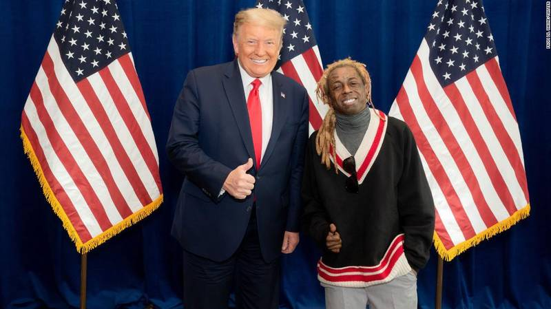 Donald Trump Could Pardon Lil Wayne Before He Leaves The White House
