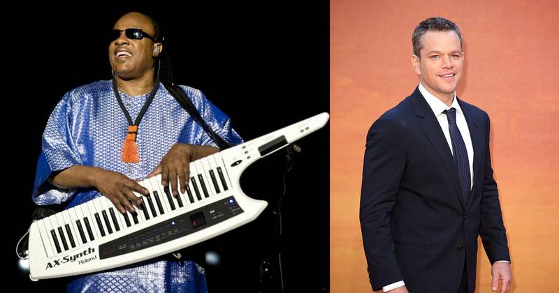 Matt Damon Reveals How Stevie Wonder Performs Without Any Visible Aids In Interview