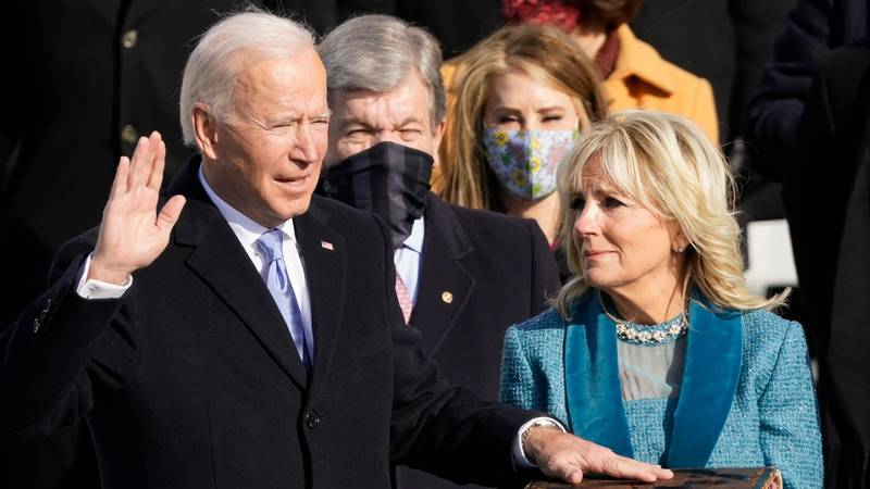 Joe Biden Declares 'Democracy Has Prevailed' In First Speech As US President