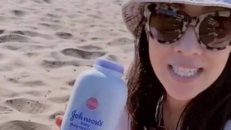 Mum Shares Beach Hack For Removing Stubborn Sand From Your Skin