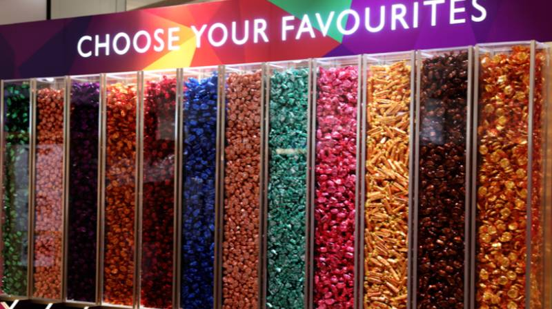 You Can Create Your Own Tin Of Quality Street At John Lewis Pick 'N' Mix Stations