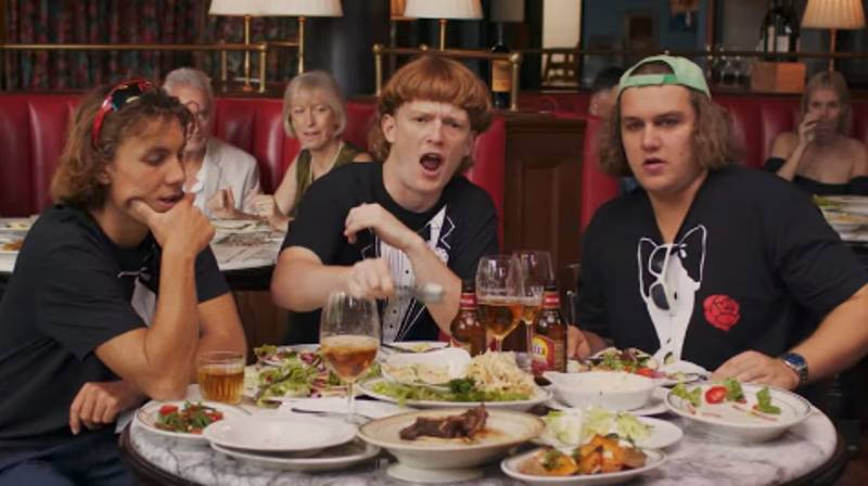 Aussie Band The Chats Team Up With The 'Democracy Manifest' Bloke For New Music Video