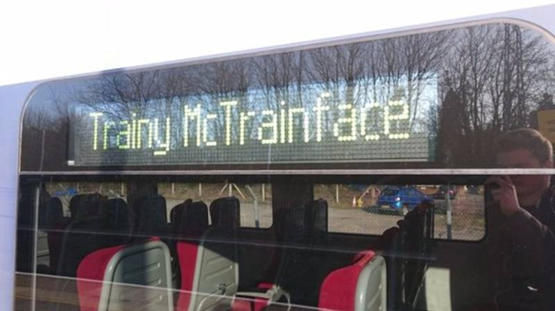 Train Service Changes Its Name To 'Trainy McTrainface' In Light Of Boaty McBoatface