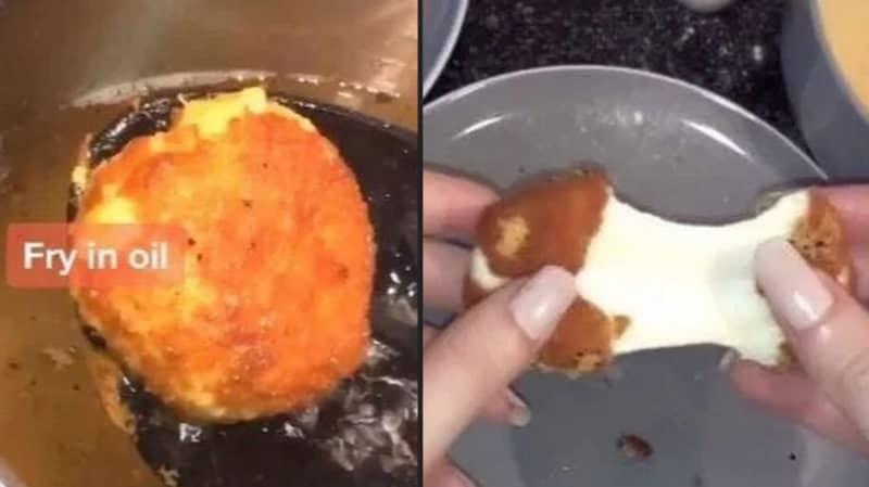 Couple Recreates McDonald's Cheese Melt Dippers Using Babybels