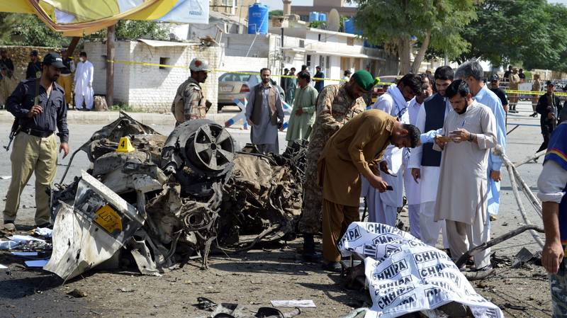 At Least 11 Dead In Pakistan Car Bomb Attack