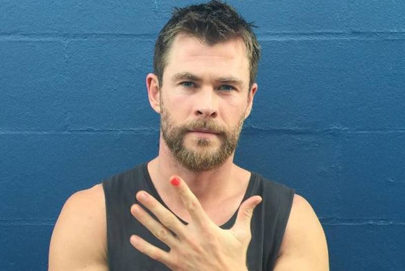 More Celebrities Paint Finger Nails And Stand Up To Child Abuse Worldwide