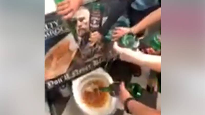 Irish Bar Blacklists Conor McGregor By Pouring His Whiskey Down The Loo