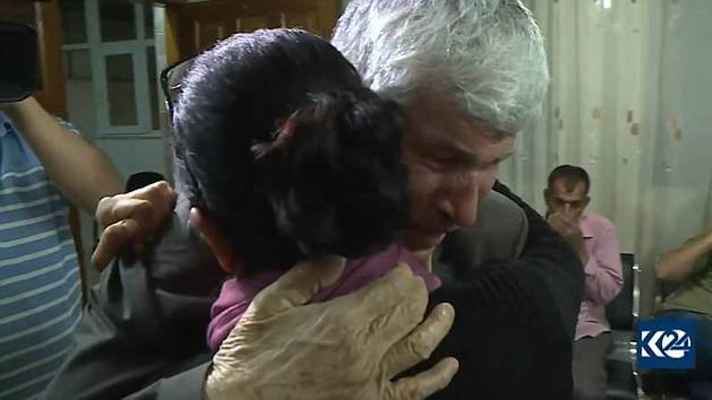Woman Captured By Isis And Kept As A Sex Slave Reunited With Dad After Three Years