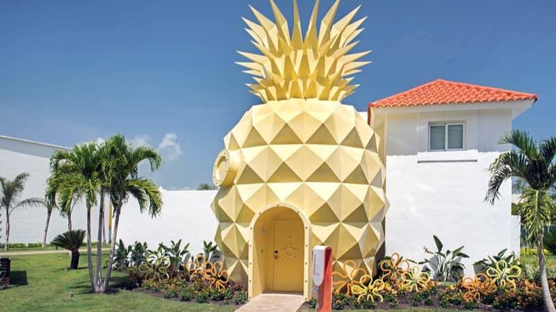 SpongeBob SquarePants' Famous Pineapple Home Is Now A Real-Life Villa
