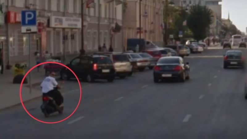 Google Maps Street View Car Captures Shocking Motorbike Crash As It Happened