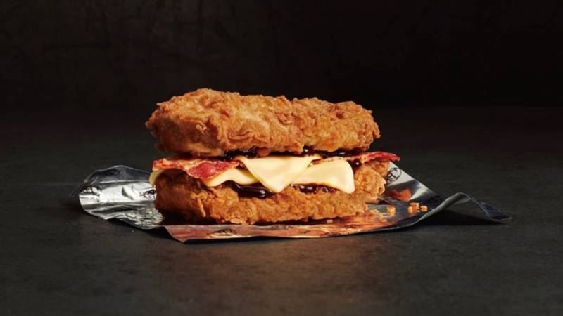 KFC Is Bringing Back Its Legendary Double Down Burger For A Limited Period